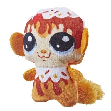 Littlest Pet Shop Littlest Pet Shop Gurme Miniş Peluş Monkey Renkli